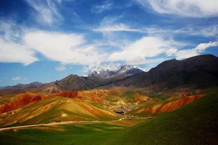 青海阿米东索风景图片