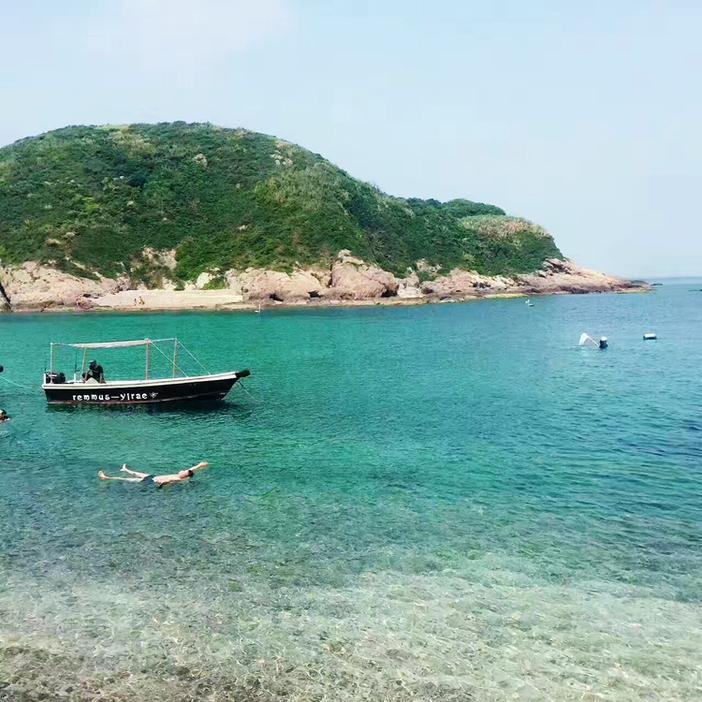 成行【小星山浮潜】8.25-26:飞艇登岛浮潜/深潜,沙滩烧烤,浪漫交友