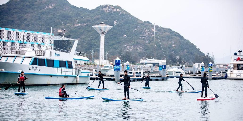 (9)每周六出发|扬帆启航,激浪皮划艇,最high海岸游-户外活动图-驼铃网