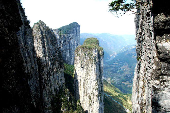 (8)走进恩施:每月一期湖北恩施大峡谷徒步穿越+中国仙本那鹤峰屏山活动五天游-户外活动图-驼铃网