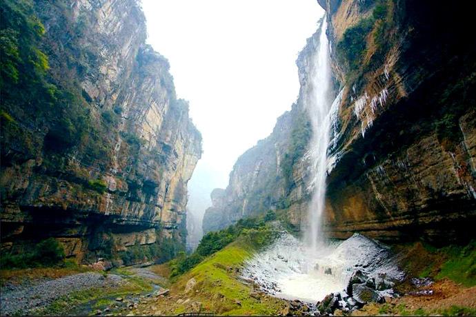 (5)走进恩施:每月一期湖北恩施大峡谷徒步穿越+中国仙本那鹤峰屏山活动五天游-户外活动图-驼铃网