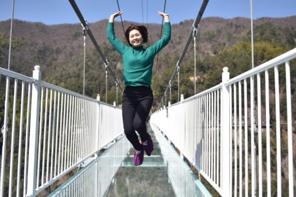 「新线首发」 3.4 这次我想带你挑战,365米的华东第一高空玻璃桥!