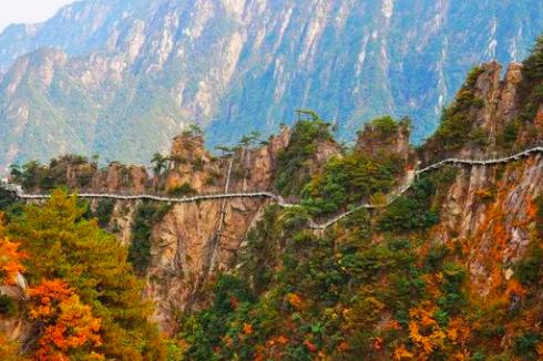 [最新活动] 10.20(周日)大明山赏红枫叶, 走悬空栈道,玩最刺激滑滑梯