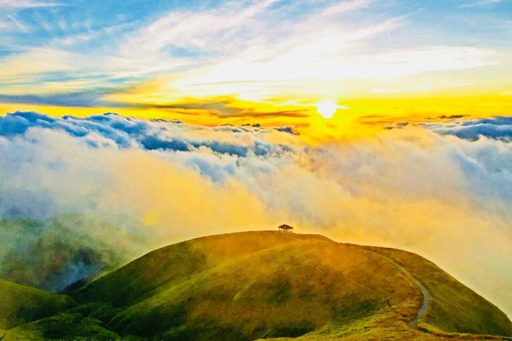 【元旦节*跨年】江西武功山之巅发云界、天上草原徒步、好汉坡、观万里云海星空 四天游
