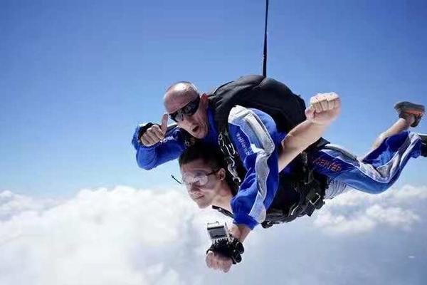 千岛湖高空跳伞