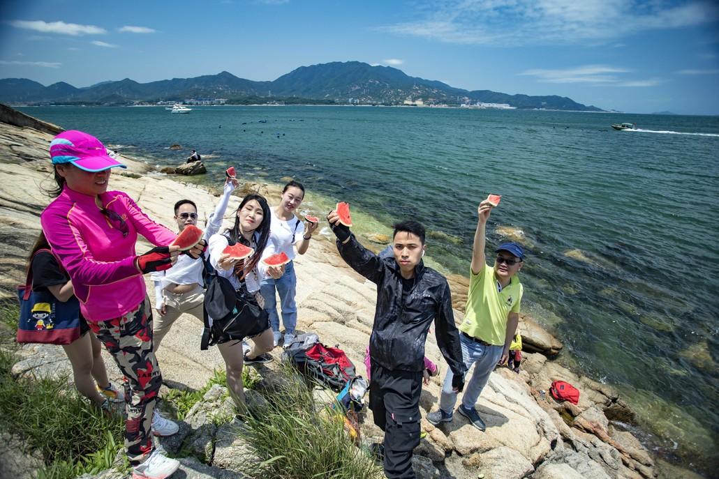 (7)6.2日穿越深圳最美海岸线 七星湾桔钓沙-户外活动图-驼铃网