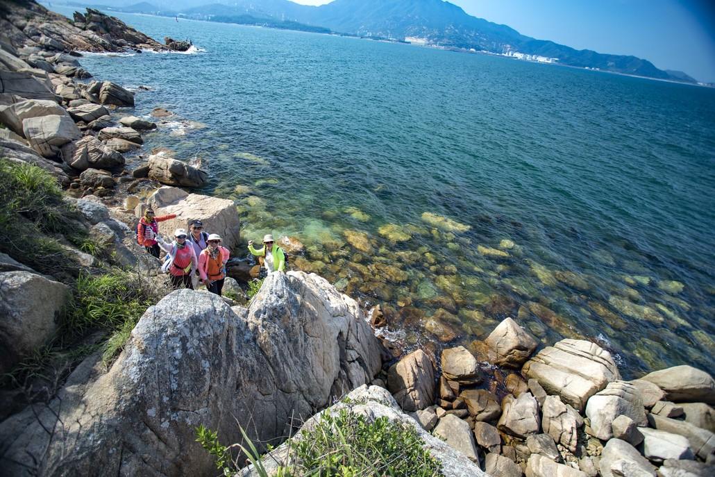 (6)6.2日穿越深圳最美海岸线 七星湾桔钓沙-户外活动图-驼铃网