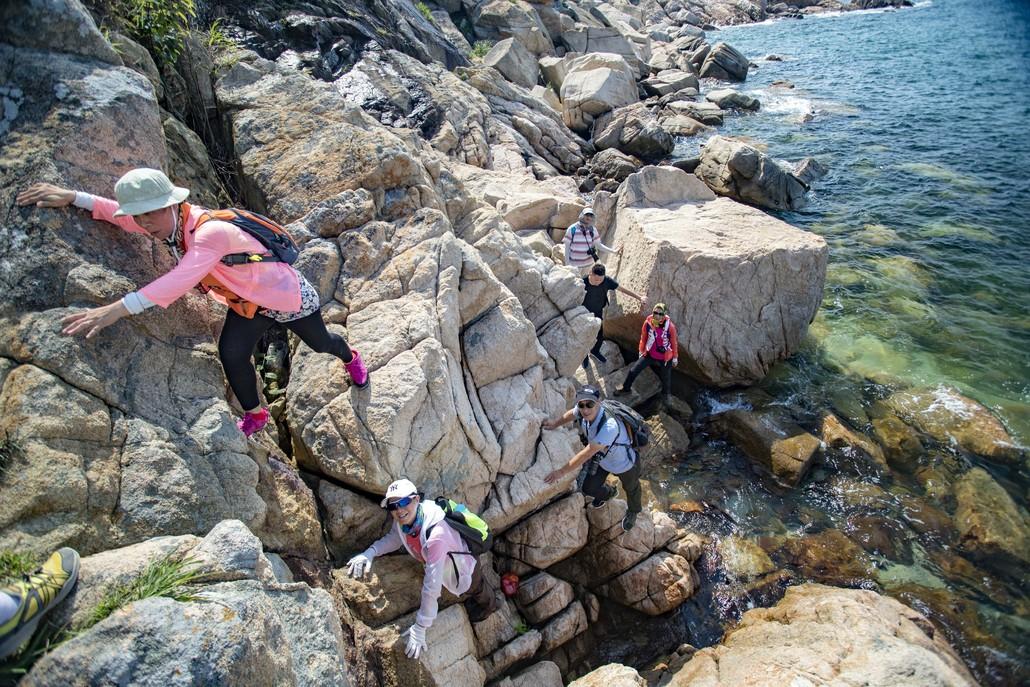(5)6.2日穿越深圳最美海岸线 七星湾桔钓沙-户外活动图-驼铃网