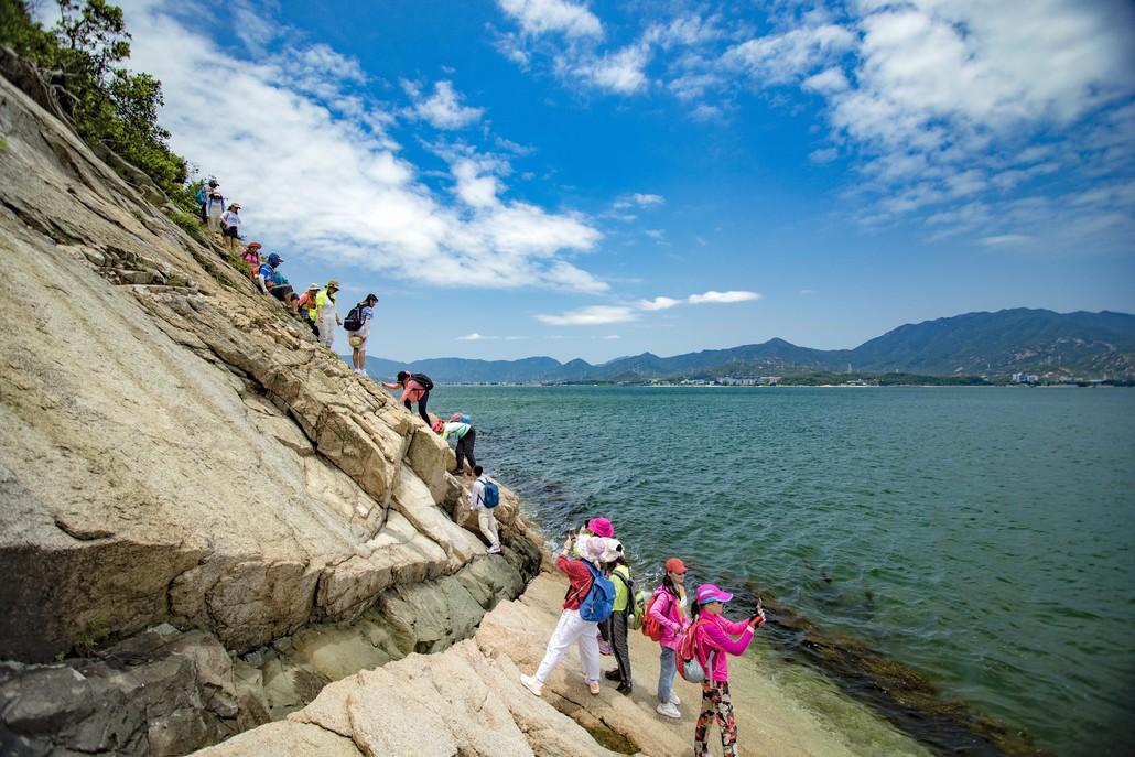 (10)6.2日穿越深圳最美海岸线 七星湾桔钓沙-户外活动图-驼铃网