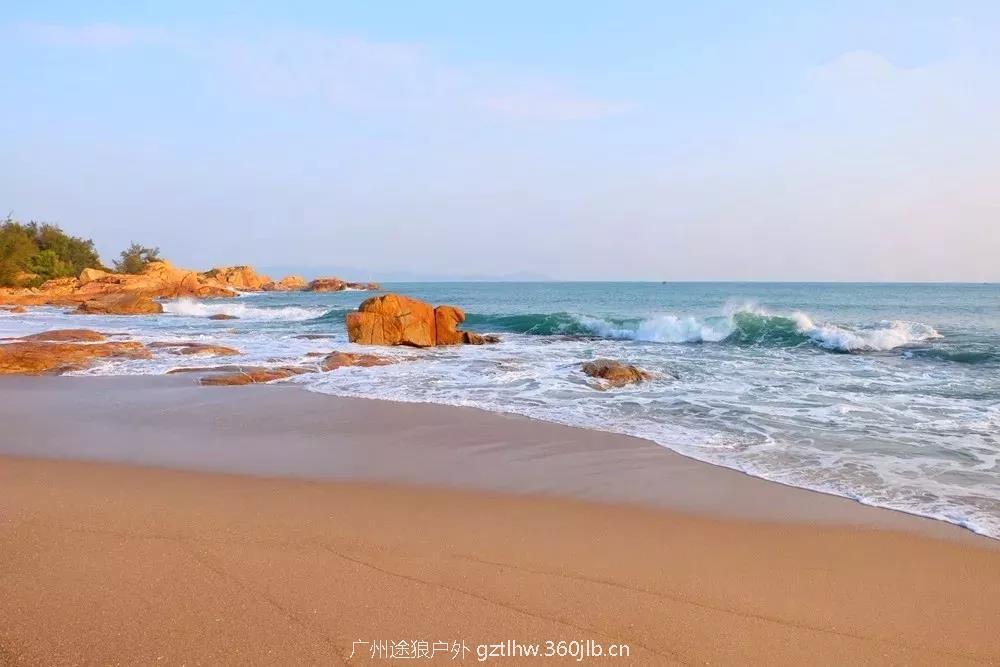 (7)3月17日 特价68元 徒步穿越惠东咸台港海岸线 醉美海湾拾贝壳-户外活动图-驼铃网