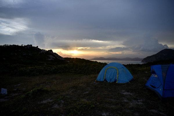 【清明·露营】小三门岛露营、登海誓山盟峰.寻找消失的天堂