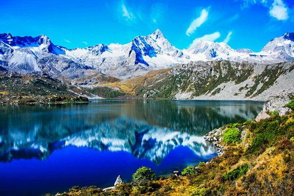 【横断秘地】众神家园雅拉雪山+党岭葫芦海徒步穿越8日