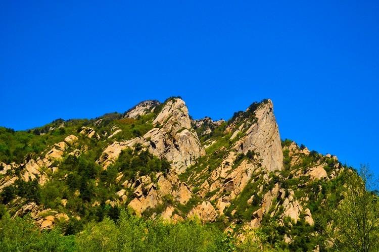 云蒙山自然风景区现已开发出的