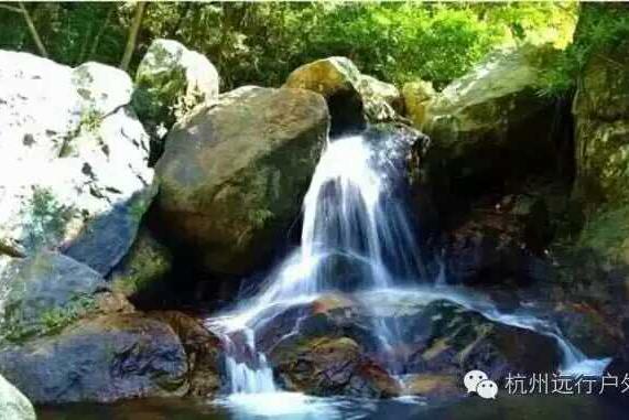 【清凉之行】8月20日 临安醉美蝴蝶谷溯溪,水潭中嬉水、游泳,寻找传说中的花蝴蝶